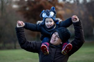 Wear something comfortable during your outdoor family photography session