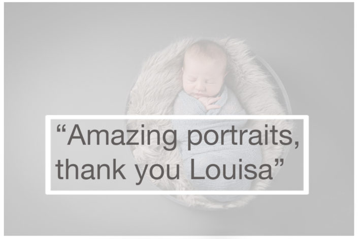 Best baby photographer Muswell Hill: Amazing photos, thanks Louisa