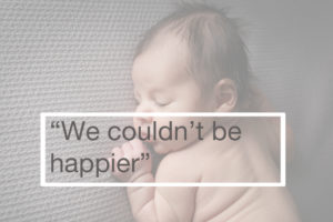 Best baby photographer Muswell Hill: A testimonial from a client describes how happy they are
