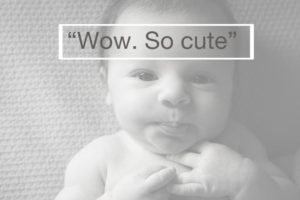 Best baby photographer Muswell Hill: A client expresses how much she loves her newborn portraits