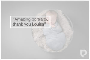 Best baby photographer Muswell Hill: Amazing portraits, thanks Louisa