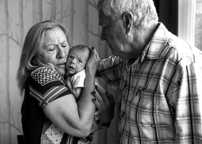 Grandparents and the love they show for their little ones are amazing subjects for family photoshoots