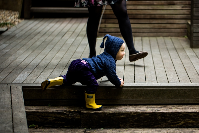 Family photoshoot North London: Don't be afraid to let your little ones be themselves