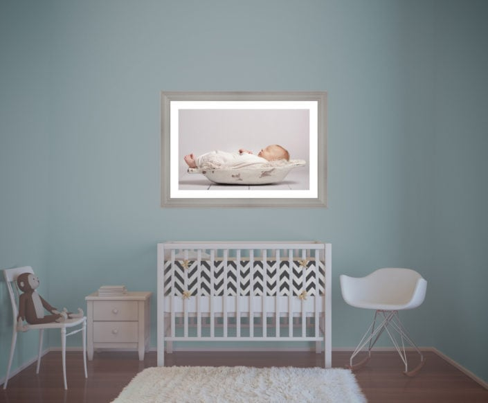A newborn baby shoot is one thing, printing out your images and enjoying them every day is another