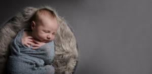 Muswell Hill photographer studio presents stunning baby portrait