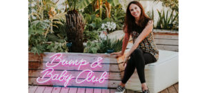Bump and Baby Club founder Alex Kohansky