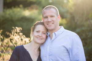 Mum and Dad take a moment to pose for the camera during their family photographer North London session