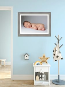 Make your baby's nursery more meaningful by hanging some personalised wall art there
