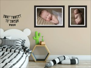 Muswell Hill baby photographer: Think big when it comes to wall art