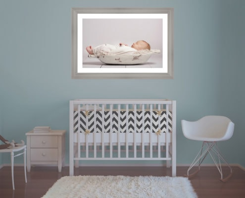 A newborn photoshoot gives you the opportunity to design wall art for your home