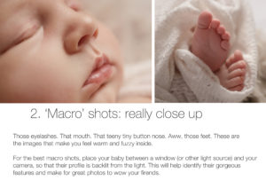Macro: How to take better photos of your baby on your phone
