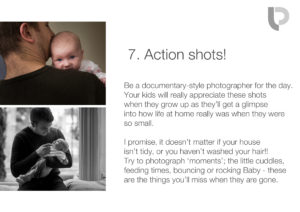 Action shots: How to take better photos of your baby on your phone
