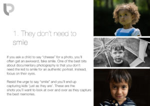 No smiling! How to take better photos of your kids on your phone