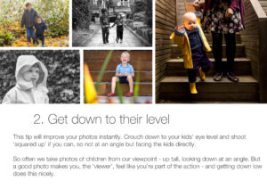 Get down: How to take better photos of your kids on your phone