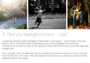 Good backgrounds: How to take better photos of your kids on your phone