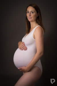 Neutral colours are ideal for the best pregnancy photoshoot London