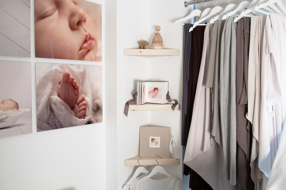 Louisa's studio is a cosy and welcoming environment for new mums