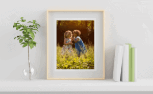Have you thought about how to display your favourite images after a North London photographer session?