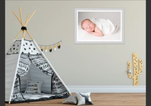 A statement print on the walls after your Muswell Hill photography session can look fabulous