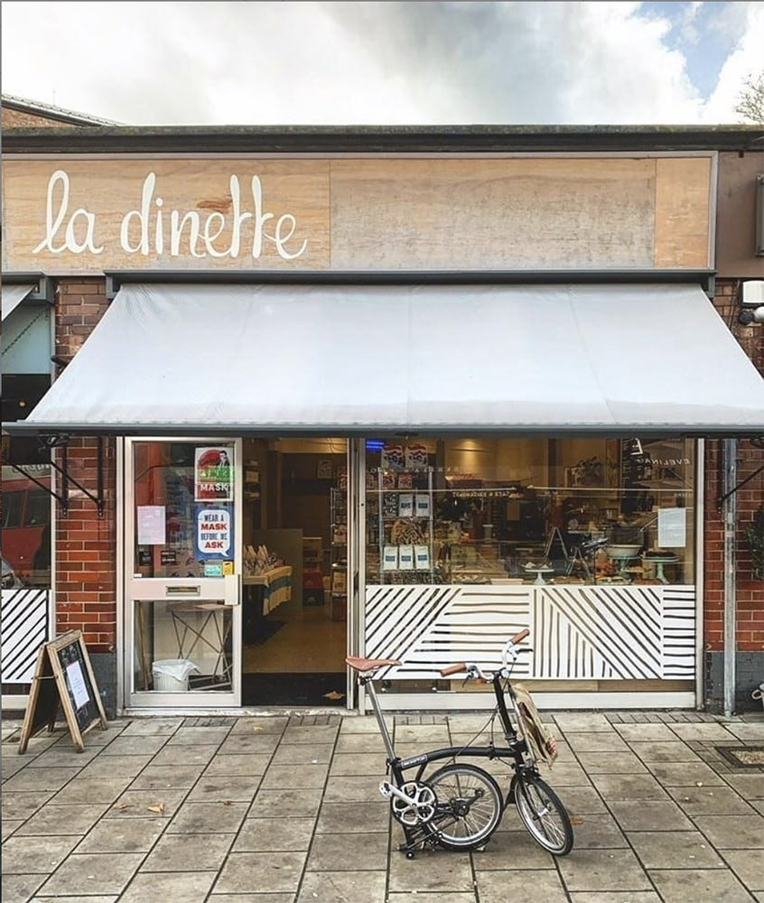 La Dinette is just a few minutes walk away from Louisa Peacock Photography, the North London photographer