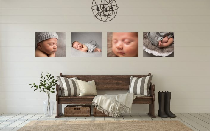 The most popular baby photographer London wall arts are those where you can display lots of images.