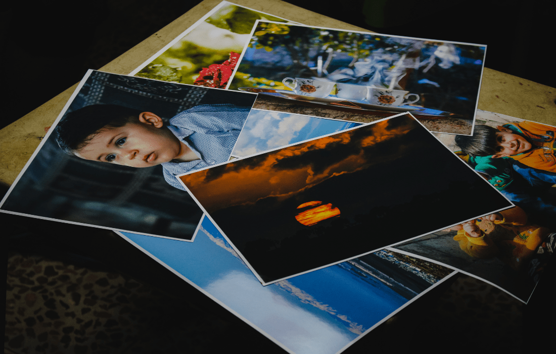 Printing digital images after a photoshoot in London is the safest way to store them
